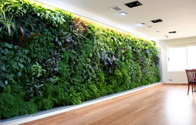 Muros verdes invaden la decoraci n decorati - Como hacer un muro verde ...